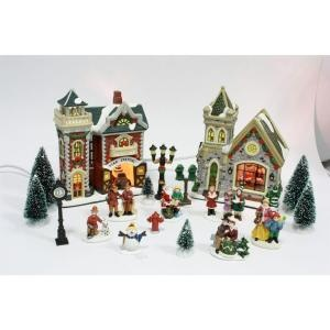 29 best Village images on Pinterest | Christmas villages, Saint ...