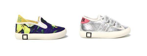 D.A.T.E. Kids presenta la collezione di sneakers per la Primavera Estate 2014