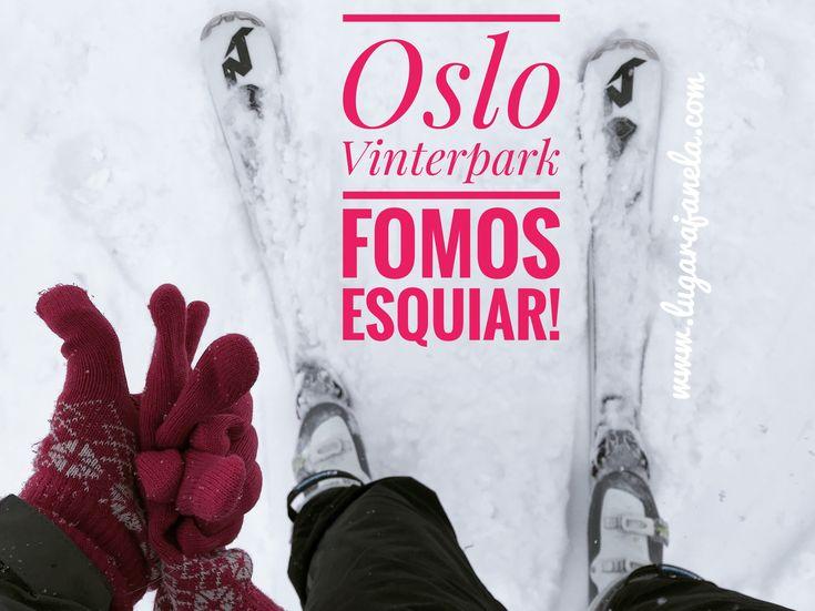 Pequeno artigo sobre a minha primeira aula de ski  #ski #esqui #esquiar #noruega