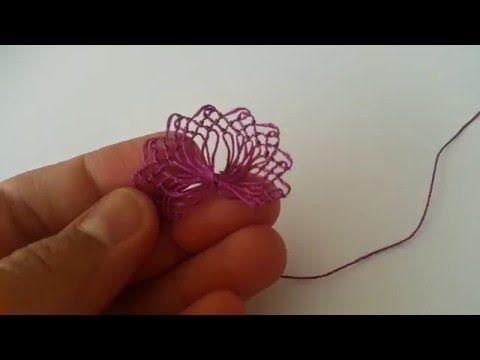 Tenedor de plástico con la escritura de encaje Ejecución video conferencia | Anlatımlı hacer punto, tejido Modelo, How-To, encajes hechos a mano,