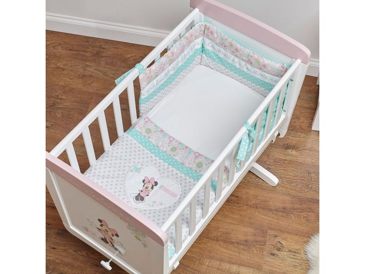 Disney Minnie Mouse Crib Set in Pink
