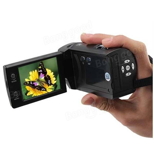 16 Mp Max 720P HD 16 X Digital Zoom Digital Video Camera Digital Camcorder With 2.4 Inch LCD Screen Sale-Banggood.com