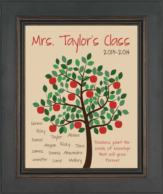 Custom TEACHER  Gift Print  Special Teacher by KreationsbyMarilyn