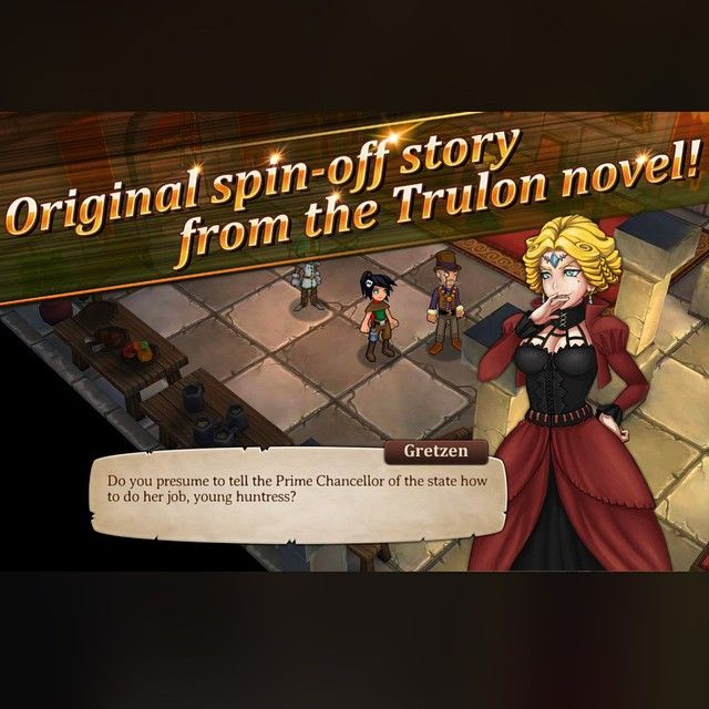 Trulon: The Shadow Engine now on Android and even better than before! #Trulon #RPG #powerpark #gamedev
