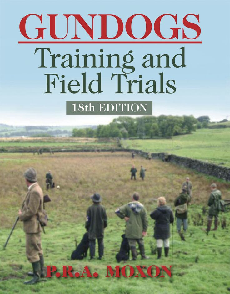 Gundogs: Training and Field Trials by P. R. A. Moxon | Quiller Publishing. This guide to all aspects of working and training gundogs has become a popular classic, as demonstrated by the fact that it has now reached its 18th edition! Written for the novice trainer, this books covers everything from the choice and selection of a gundog puppy through to participation in a field trial. #dog #gundog #training #field #trial
