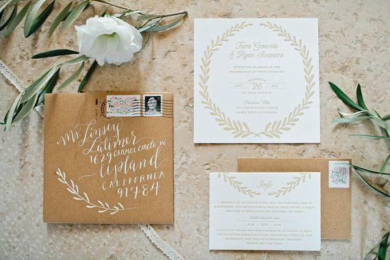797 best Rustic Wedding Invitations images on Pinterest Rustic