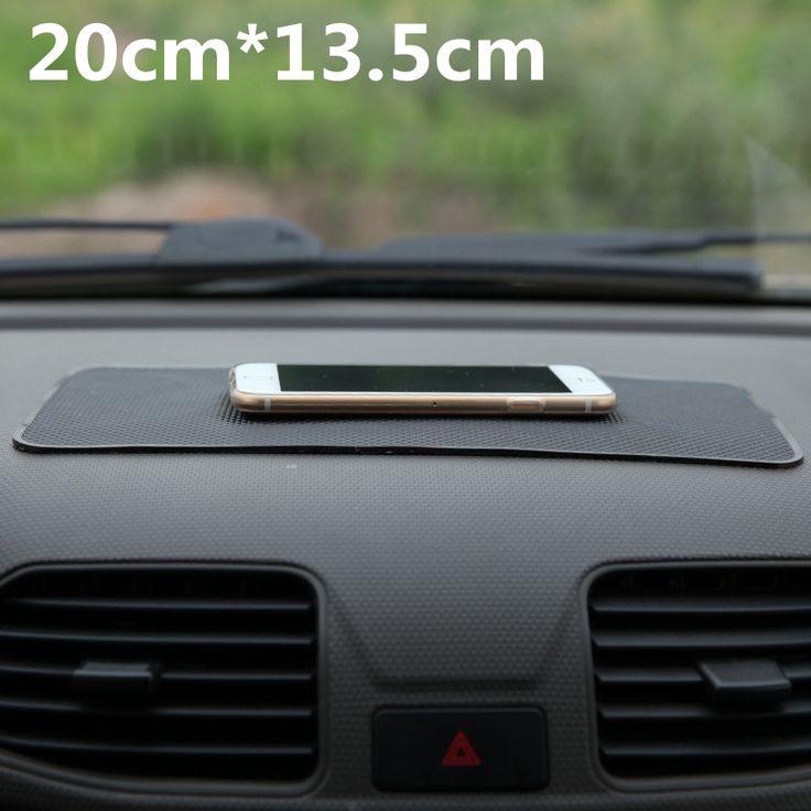 יוניברסל רכב לוח מחוונים 18*13 cm קסם אנטי סליפ mat non-להחליק pad עבור מפתח טלפון סלולרי iphone מחזיקי טלפון נייד חכם gps
