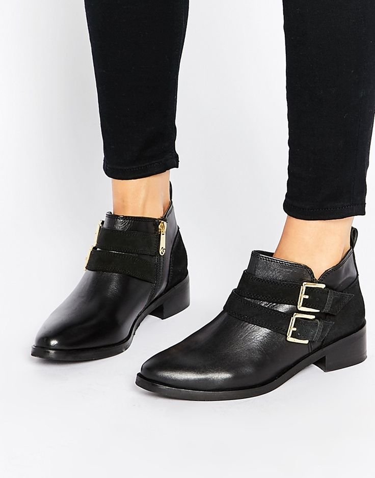 Image 1 of KG By Kurt Geiger Salvador Double Buckle Boots
