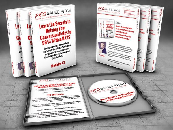 Here's my first e-book on the topic of being successful at sales - Pro Sales Pitch - The A-Z Professional Sales System to Rocket to Near 100% Conversion Rates - Would love you guys to check it out...
