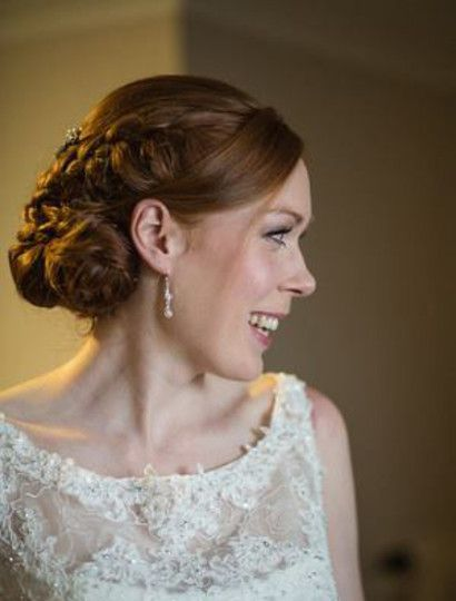 """Made in Shropshire. """"Since ordering my wedding jewellery I've ordered several necklaces and earrings as gifts for friends and family - I love all of your designs and your service is great x""""."""