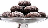 Thomas Haas' Chocolate Sparkle Cookies.  Just about the best chocolate cookie, I've ever had.