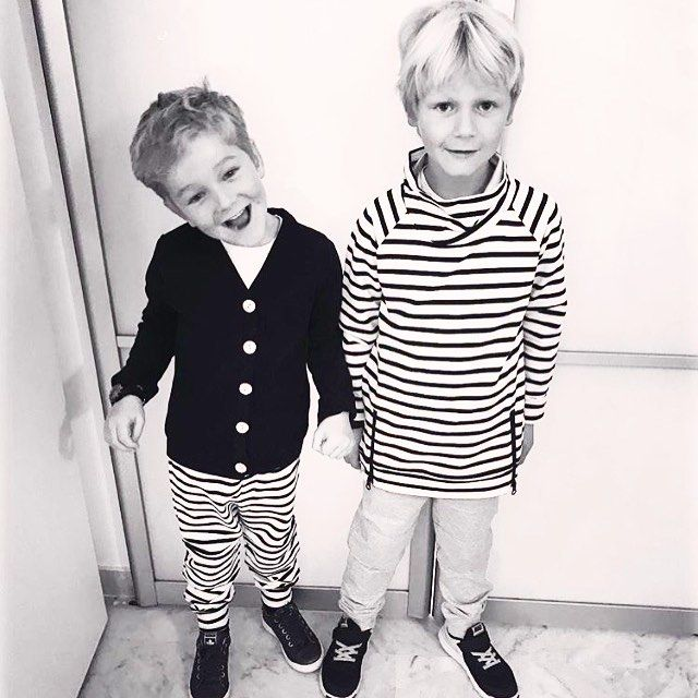 Say HI to our little friends Jimmy and Junior! Don't they look handsome in their outfits?! ☺Photo @liselorealbers  #houseofjamie #kidsfashion #kids #fashion #clothing #kleding #kinderkleding #oekotexcertified #ecofriendly #designedinamsterdam