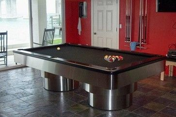 Tierra Verde   Contemporary   Basement   Tampa   Mitchell Pool Tables