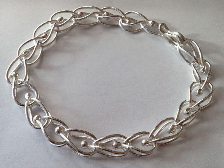 Fine silver fused - bracelet
