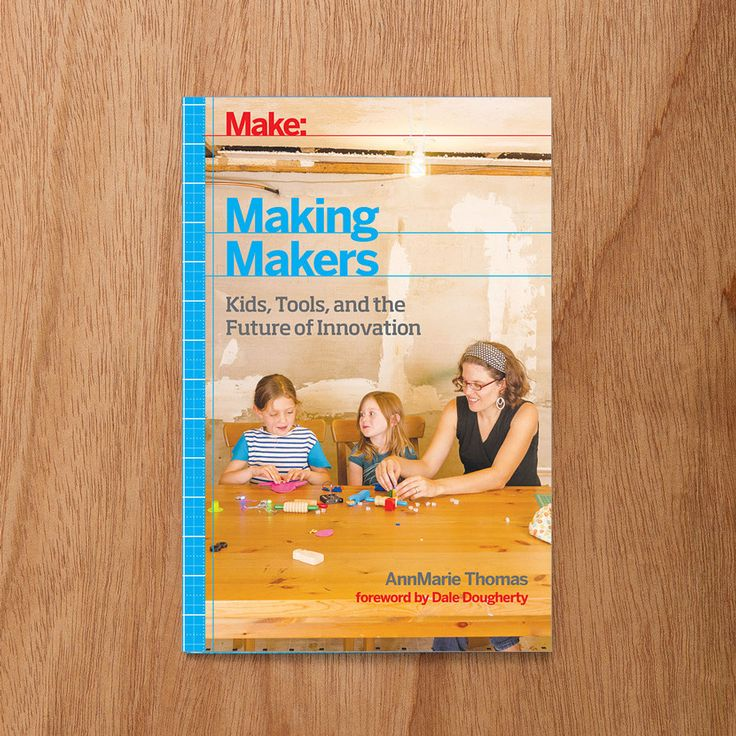 What makes a Maker? Childhood. In this collection of interviews, professor AnnMarie Thomas interviews dozens of makers about their shared childhood experiences and how the freedom of expression they enjoyed as kids has remained an integral part of their adult careers.