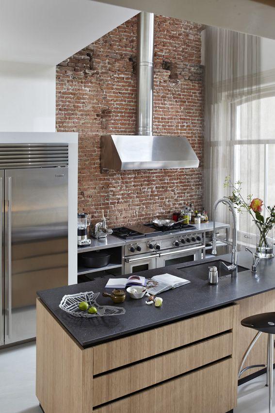 Keuken Renovatie Amsterdam : Maatwerk keuken Renovatie herenhuis aan Vondelpark te Amsterdam