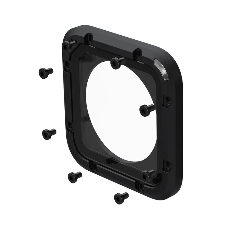 GoPro Lens Replacement Kit HERO Session. Contains everything needed to replace the glass lens cover on your HERO5 Session or HERO Session. Includes one replacement lens cover, a seal, screws and a screwdriver.