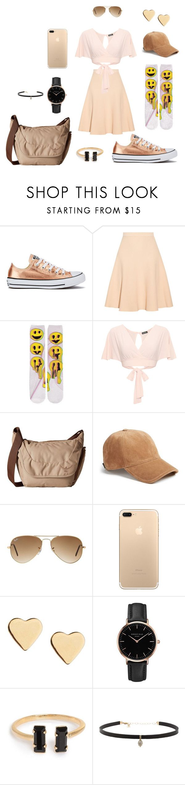 """Untitled #139"" by dance4ever1222 ❤ liked on Polyvore featuring Converse, Jonathan Simkhai, WearAll, Osprey, rag & bone, Ray-Ban, Lipsy, Topshop and Carbon & Hyde"