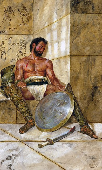 """""""After the duel"""" - Gladiator"""