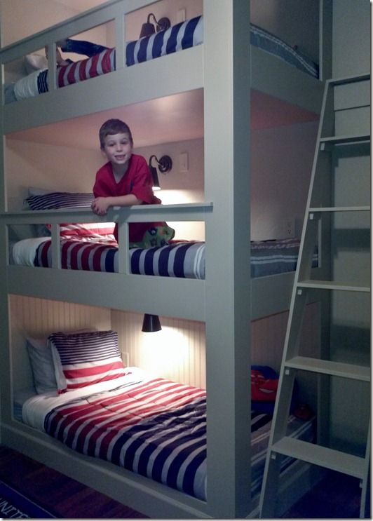 The Adventures Of The York Family Seven Triple Bunk Bed