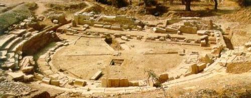 Ancient Theater of Maronia,komotini