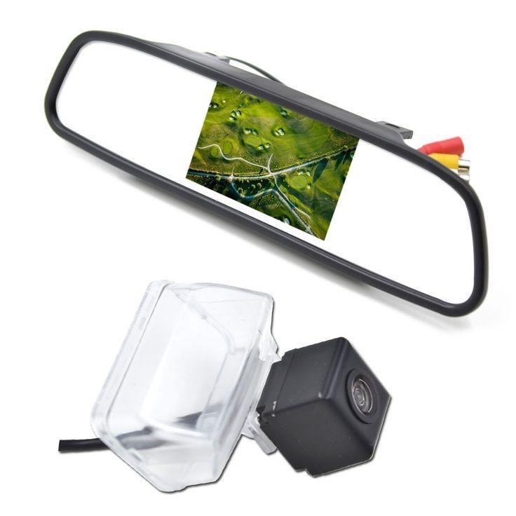 4.3  Car Mirror Monitor with CCD Car Reverse Camera for 2012 CITROEN DS4 2013 CITROEN C4L Auto Rear View Park