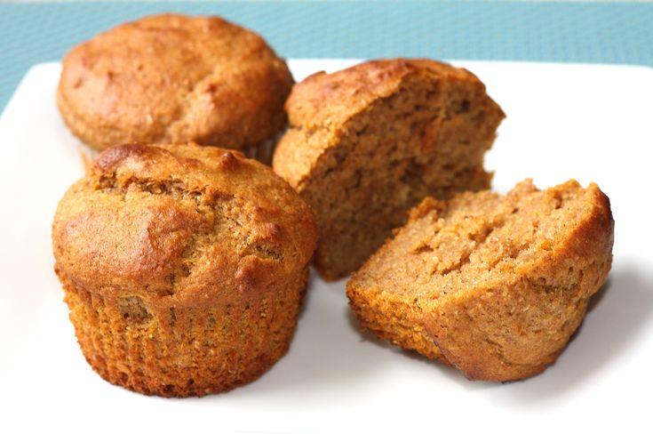 Pumpkin Whole Wheat Eggless Muffins