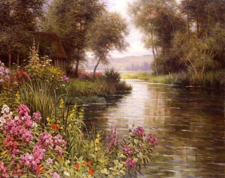 « L'amour n'est-il pas dans les espaces infinis de l'âme, comme est dans une belle vallée le grand fleuve où se rendent les pluies, les ruisseaux et les torrents, où tombent les arbres et les fleurs, les graviers du bord et les plus élevés quartiers de roc ? Il s'agrandit aussi bien par les orages que par le lent tribut des claires fontaines. Oui, quand on aime, tout arrive à l'amour. »  Honoré de Balzac