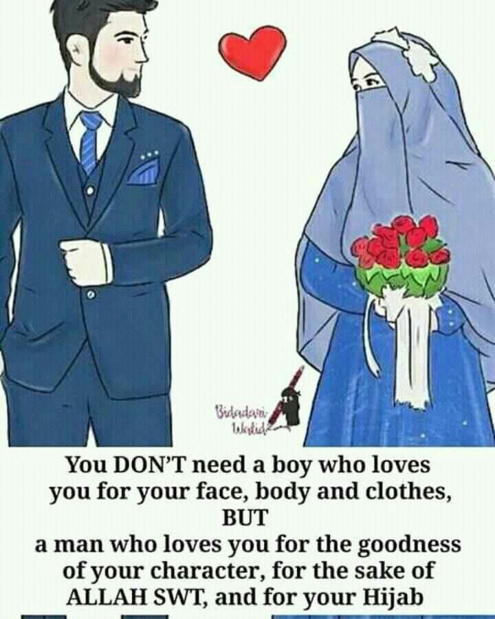 And .he should  love Allah more than u