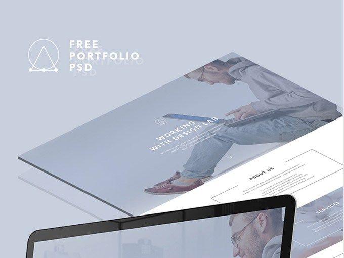 Elipsis : Simple Portfolio PSD Template