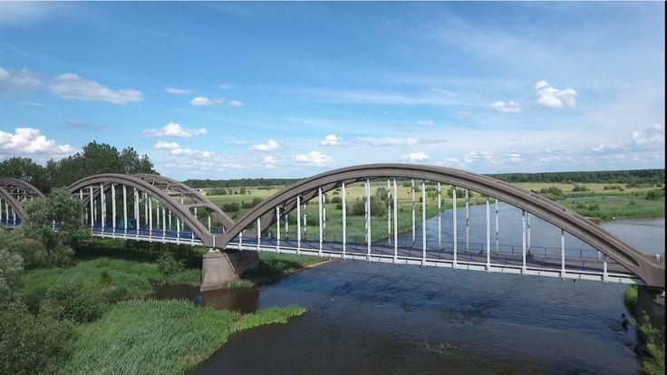 Most w Białobrzegach nad Pilicą