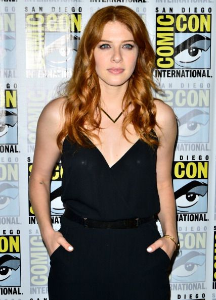 Rachelle Lefevre at the CBS Television Studios' Series Press Lines 'Reign' 'Under The Dome' And 'Scorpion at the 2014 Comic-Con International Convention. Hair by Kylee Heath.