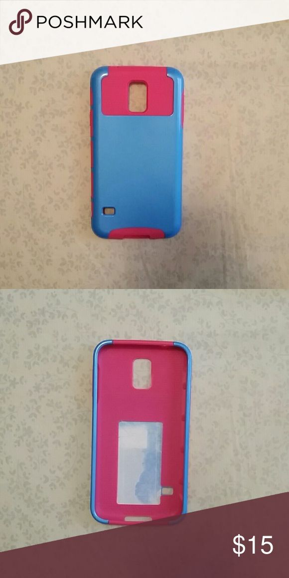 Samsung Galaxy s5 case Pink and blue galaxy s5 case Accessories Phone Cases