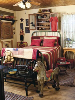 Decorate with vintage American style with hints from CountrySampler.com!