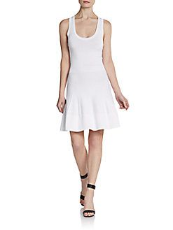 A.L.C. - Sleeveless Racerback Fit-And-Flare Dress