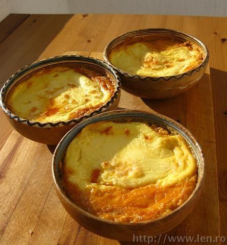 Cremă de zahăr ars - Crème brûlée