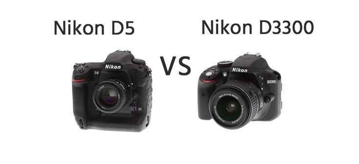 Nikon D5 vs Nikon D3300 Comparison   https://dslrcamerasearch.com/nikon-d5-vs-nikon-d3300-comparison/ Just like any other investment, buying cameras should be something that needs to be taken seriously. A lot of Nikon D5300 camera models are out in the...  https://dslrcamerasearch.com/nikon-d5-vs-nikon-d3300-comparison/