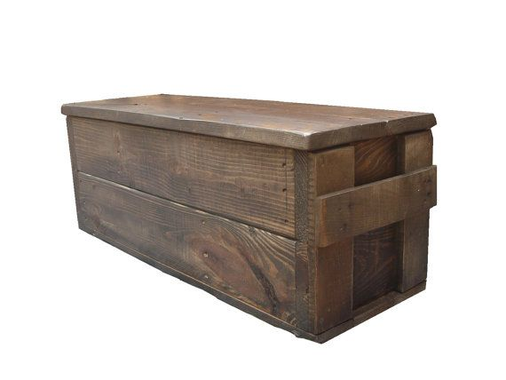 Primitive Wood Box, Storage Chest, Trunk, Wooden box, primitive home decor style 104 on Etsy, $129.99