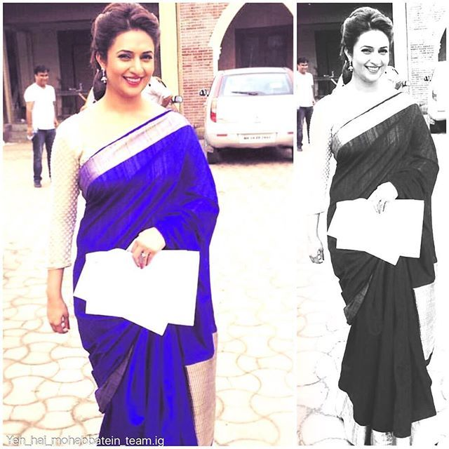 She is looking hot @divyankatripathidahiya (#babydivz#yhm