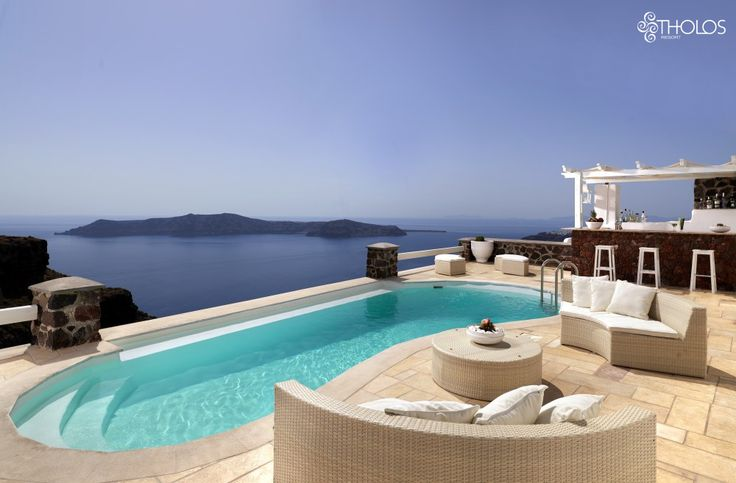 Time for siesta in Santorini's most special place!  More at tholosresort.gr
