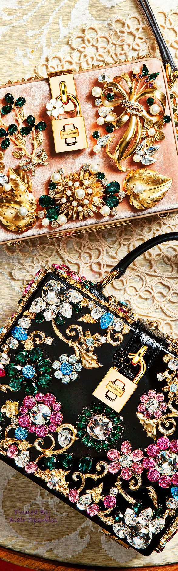 DOLCE AND GABBANA WINTER ACCESSORIES 2016 ♕♚εїз | BLAIR SPARKLES |