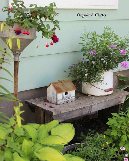 1000+ Ideas About Rustic Garden Decor On Pinterest