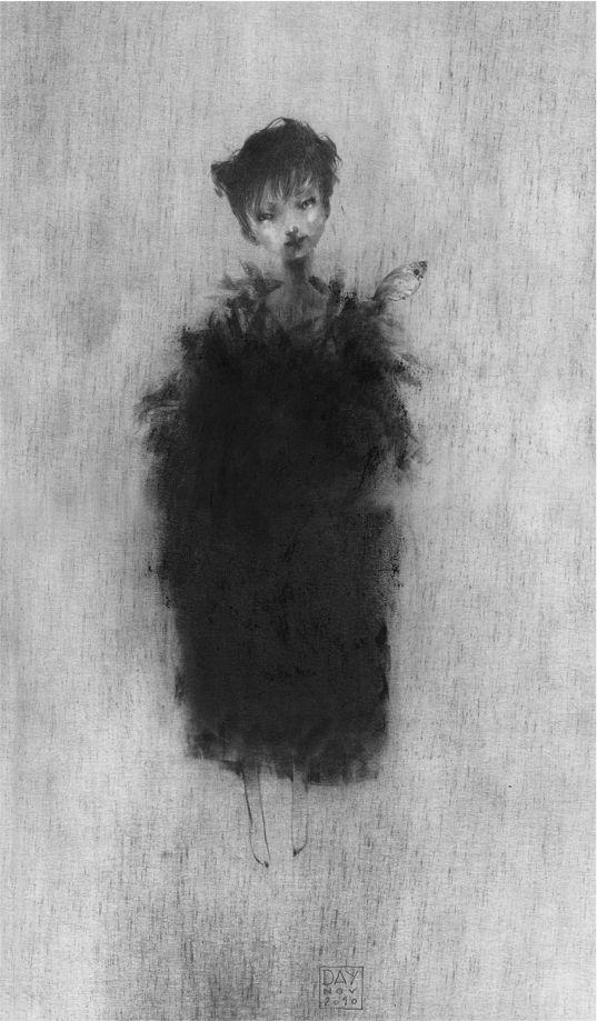 L'enfant aux plumes, Alexandre Day