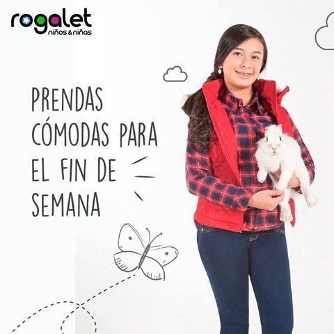 Disfruta del fin de semana con la moda de Rogalet Jeans. #prendascomodas #niños #niñas #weekend