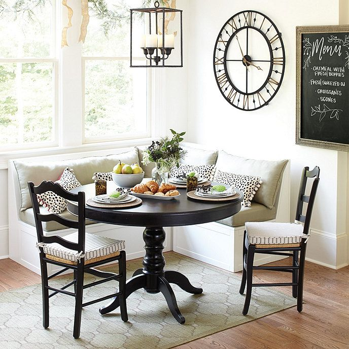 Sidney 5 Piece Dining Set Banquette Seating In Kitchen Dining