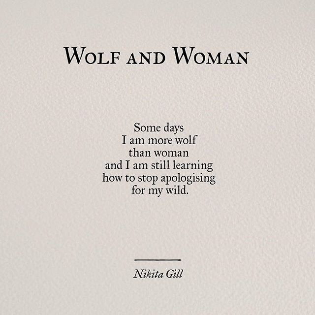 Nikita Gill poetry on Instagram