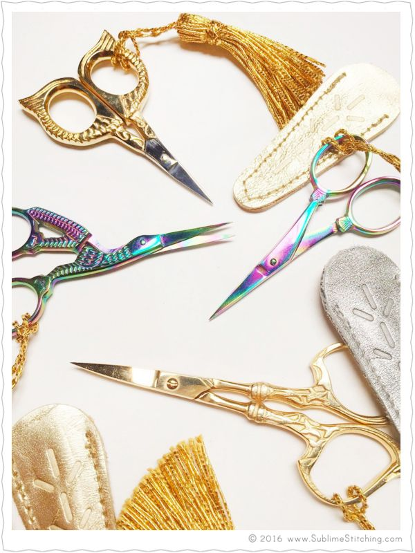 Sublime Stitching - Hand Embroidery Scissors are back!