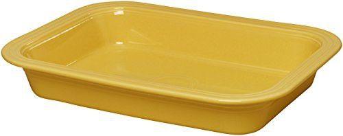 Fiestaware Lasagna Pan 9 x 13 - Sunflower Yellow