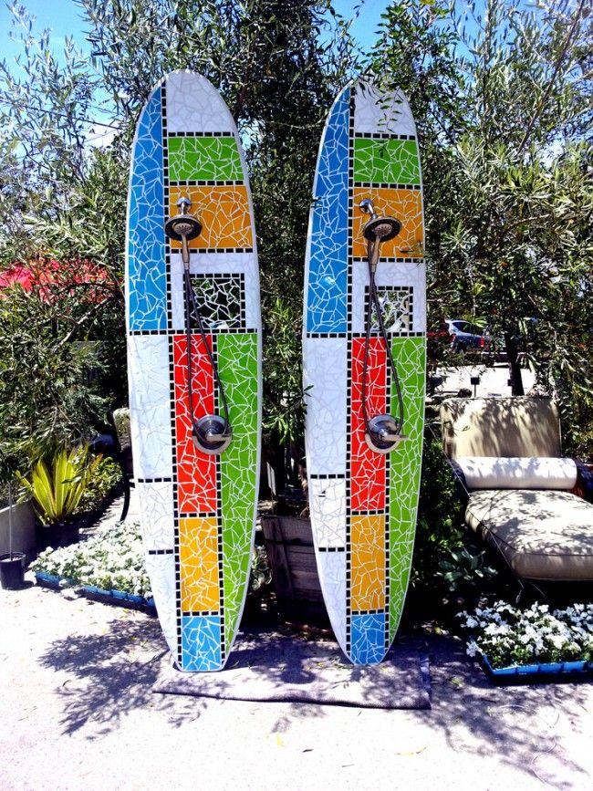 Вторая жизнь доски для серфинга: популярный проект с мозаикой для воплощения своими руками