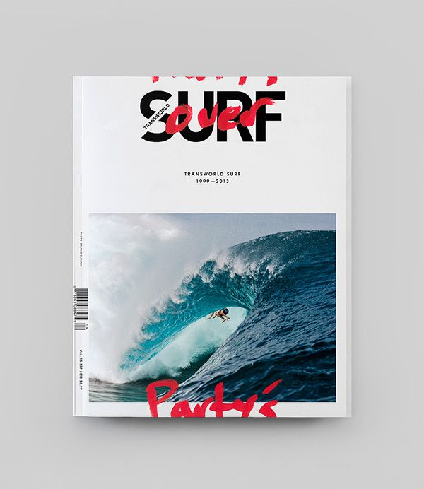 Editorial Design: TransWorld Surf Magazine | Abduzeedo Design Inspiration